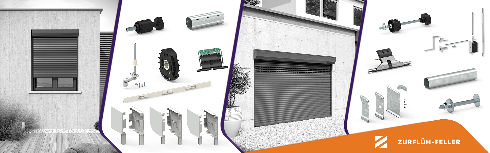 French leader for system designing and manufacturing of components for roller shutter