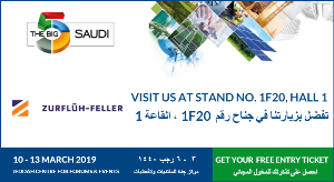 The 9th edition of the Big 5 Saudi,      taking place from 10 - 13 March 2019 in Jeddah